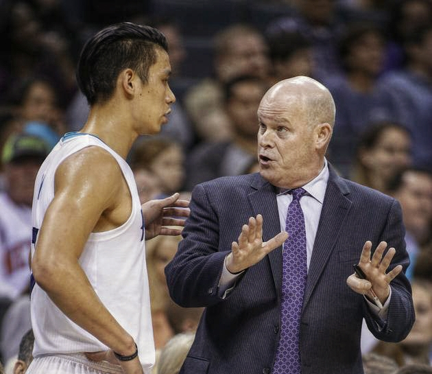 8026d1482fe One year has passed since Jeremy Lin came on board the Hornets team because  Coach Clifford liked him and the Hornets will play faster with lots of PnR
